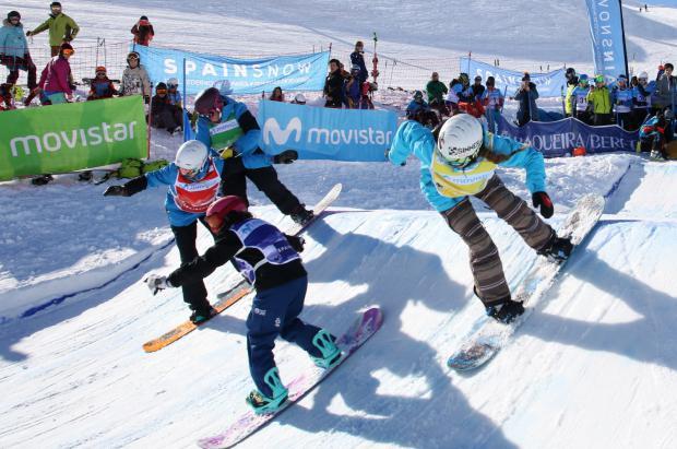 La Copa de España Movistar de Snowboardcross y Skicross llega a Baqueira Beret