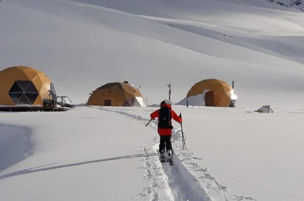 Avanza El Azufre, la macro estación de esquí sostenible de América Latina, que abrirá en 2020