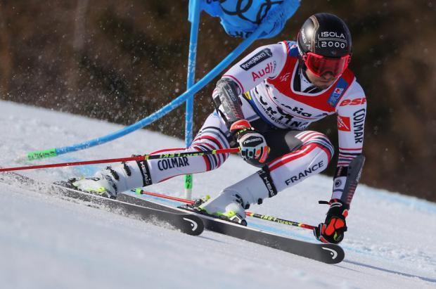 Mathieu Faivre da la gran sorpresa en el GS de Cortina y gana la medalla de oro