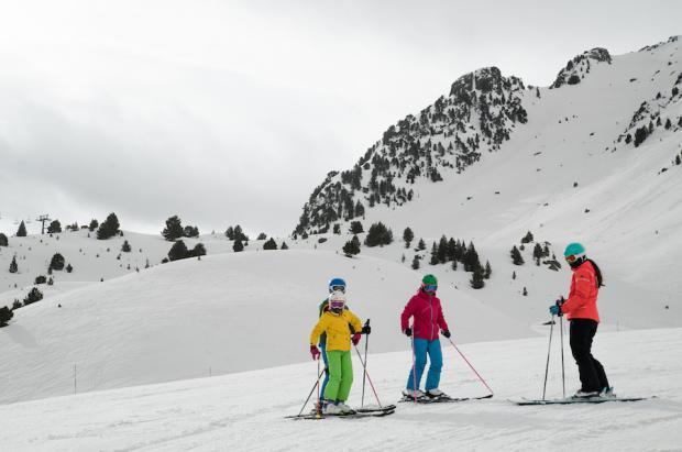 Aramón supera los 1,2 millones de esquiadores, un 17% más que la temporada anterior
