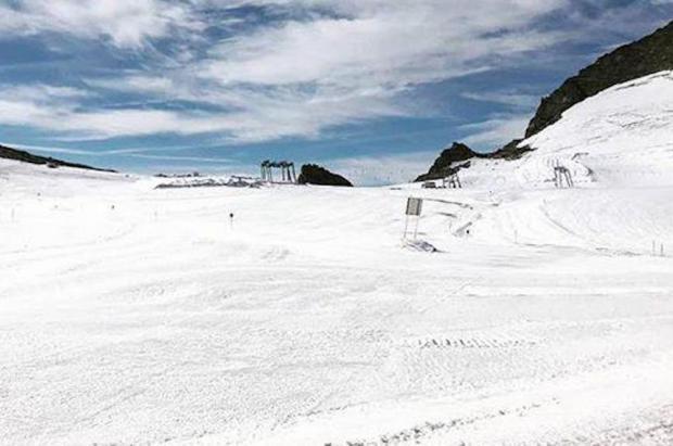 5 glaciares para el esquí de verano permanecen abiertos a pesar del calor