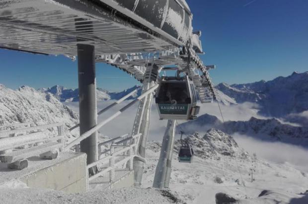 9 glaciares abiertos en los Alpes para esquiar en octubre