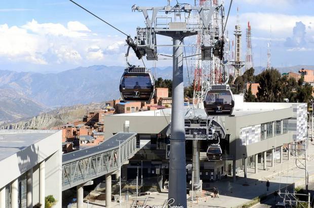 ¿Dónde está la red de teleféricos más grande del mundo?