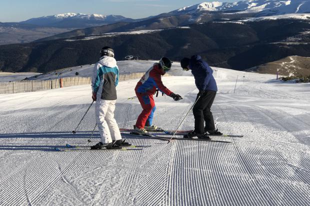 El anticiclón favorece una buena afluencia durante el periodo navideño a las estaciones de esquí