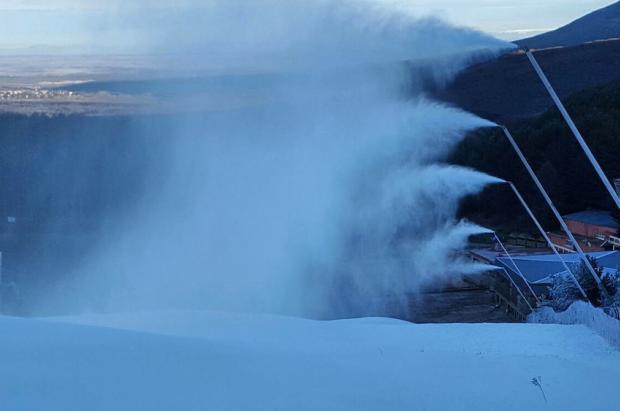 La Pinilla inaugura este jueves la temporada de esquí en el Sistema Central