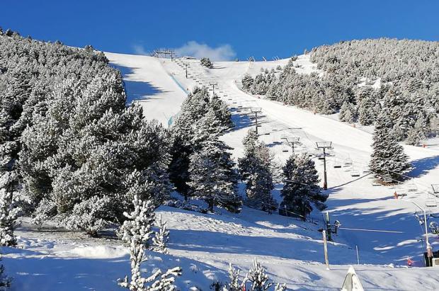 ¿Dónde esquiar este fin de semana? Menos estaciones abiertas pero más nieve en pistas