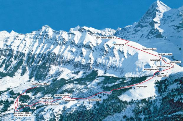 La Copa del Mundo de esquí se cancela en Wengen por la Covid y se reprogramará en Kitzbühel