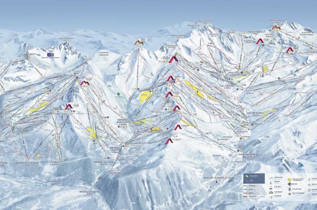 Les 3 Vallées está lista para estrenar temporada de esquí: novedades y calendario