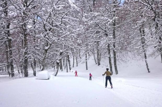 Los Espacios de Esquí Nórdico de Aramón afrontan un gran fin de semana de sol y nieve