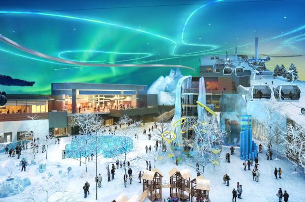 Arabia Saudí construye la pista de esquí cubierta más grande fuera de China