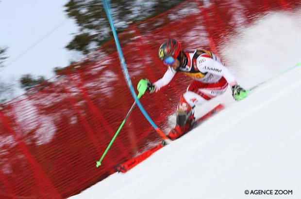 Marcel Hirscher cierra los mundiales de Are revalidando el título de campeón de slalom