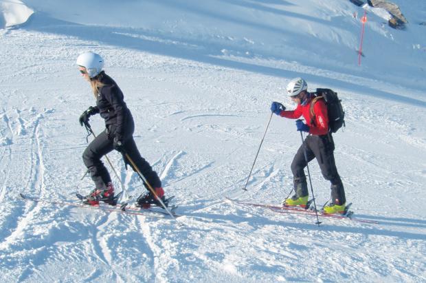 Ski Andorra difunde las reglas básicas para la práctica del esquí de montaña en pistas