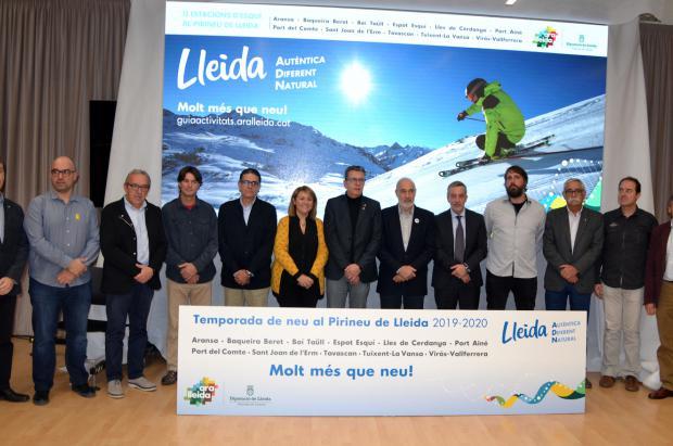 El Pirineo de Lleida ha invertido más de 20 millones para superar los 1,3 millones días de esquí