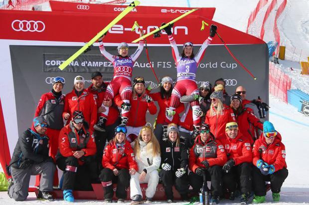 Los esquiadores austriacos se imponen en los descensos de la Copa del Mundo del fin de semana