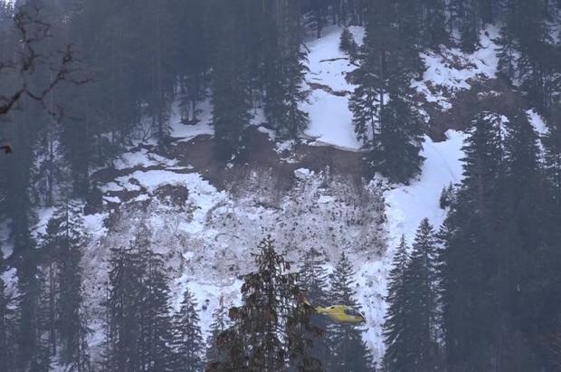 Un desparecido, un muerto y 4 rescatados, balance provisional de una avalancha en Austria