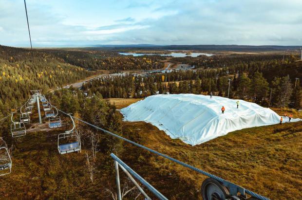 El cultivo de nieve permitirá a la estación finlandesa de Ruka abrir el 8 de octubre