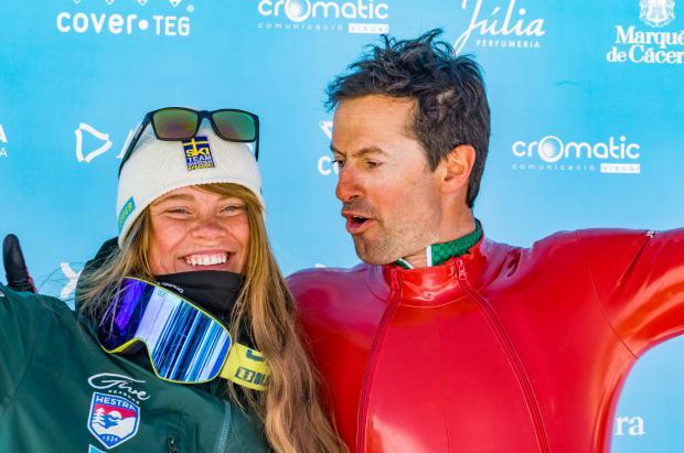 Simone Origone y Britta Backlund consiguen los Globos de Cristal 2019 del esquí de velocidad en Grandvalira