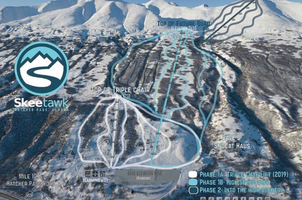 Skeetawk ski resort: Alaska abre una nueva estación de esquí este invierno