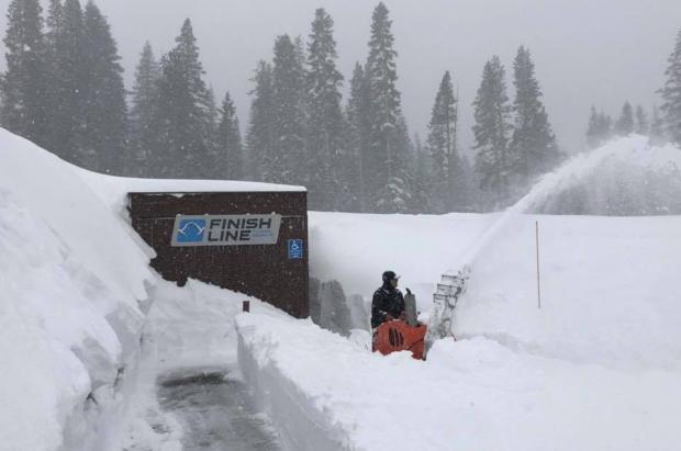 Sugar Bowl Resort rompe su récord de nevadas en febrero con casi 7 metros y ya acumula 12