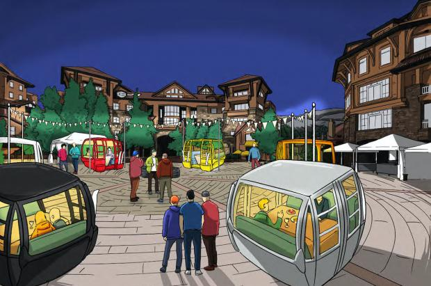 Una estación de Colorado reutiliza las cabinas como vagones comedor para el invierno Covid