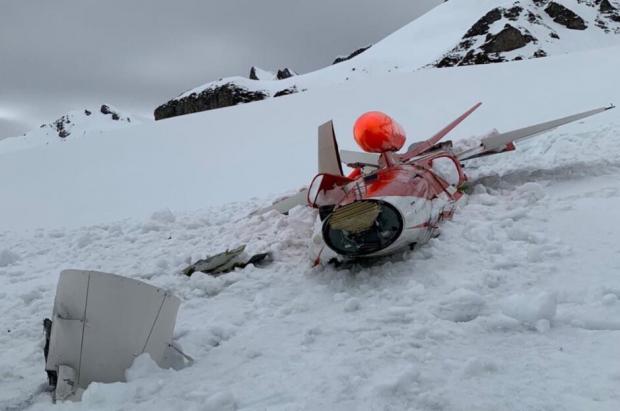 Un avión de combate suizo se estrelló muy cerca de una estación de esquí