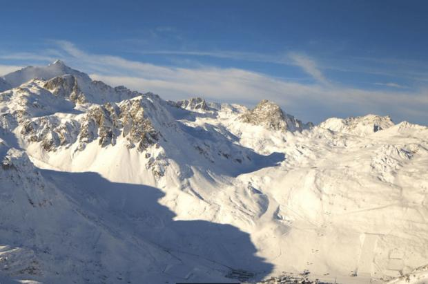 Algunas grandes estaciones de los Alpes arrancarán la temporada con nieve fresca