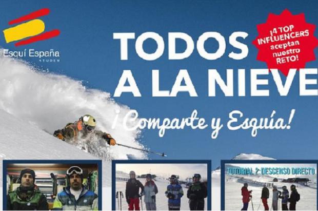 Últimos días para concursar y ganar cientos de forfaits dobles de las estaciones de esquí de ATUDEM