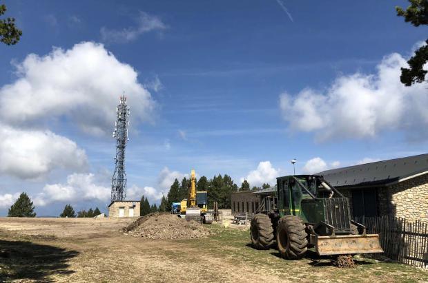 Tuixent-La Vansa mejora instalaciones de cara a ser una posible subsede de unos juegos de invierno