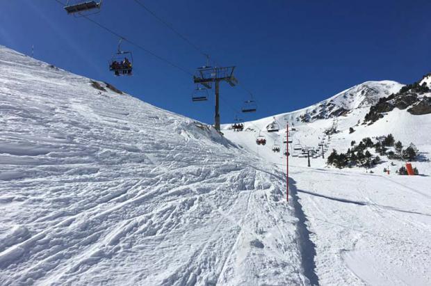 Vall de Núria y Vallter finalizan una temporada de invierno con demasiadas nevadas