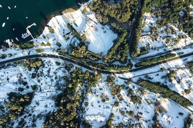 Nueva alerta por fuertes nevadas en las zonas argentinas de Chubut, Neuquén y Río Negro