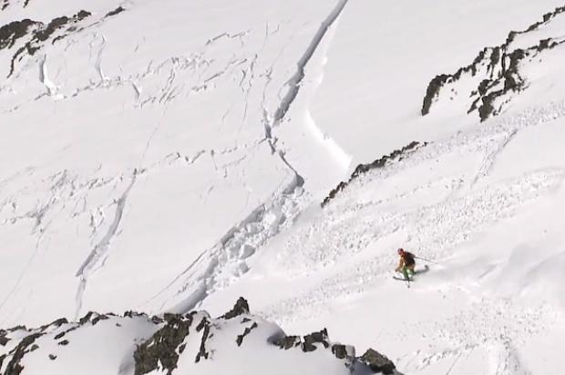 Estremecedor vídeo donde el freerider Aymar Navarro sobrevive a una avalancha gracias al ABS Airbag