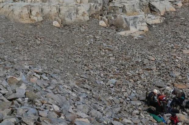 trágico accidente de montaña en Panticosa. Una mujer ha perdido la vida