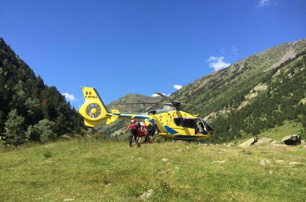El número de rescates de montaña en Andorra aumenta un 20% este año