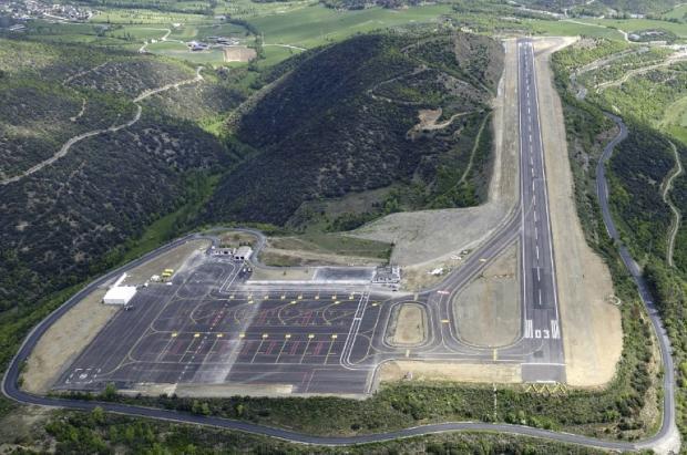 Así es el exclusivo sistema de aproximación GPS de vuelo del aeropuerto de Andorra-La Seu