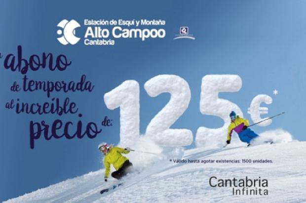 Si hay nieve, Alto Campoo abrirá el 23 de diciembre con precios especiales