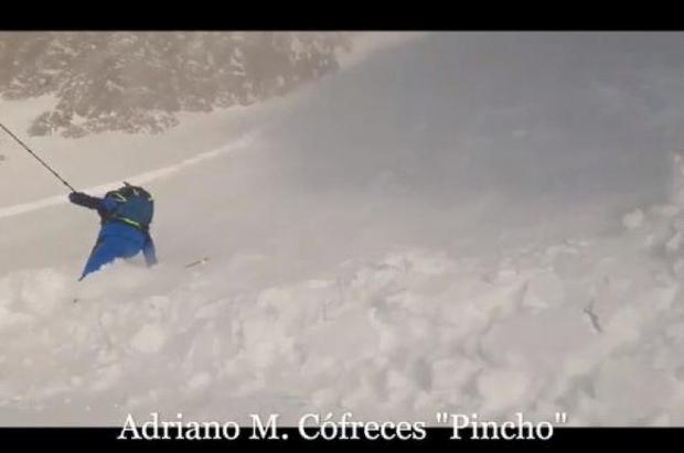 Un alud en el canal de la Trapa en Huesca sorprende a tres instructores de montaña