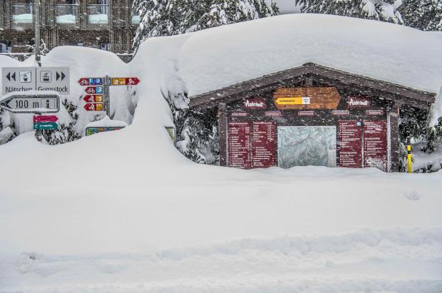 La suiza Andermatt con nada menos que 6 metros lidera el ranking de estaciones con más nieve