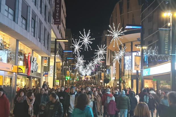 Andorra, durante las Navidades, bate récords de los últimos 15 años de entrada de vehículos
