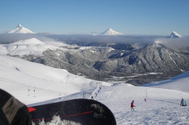 La temporada de esquí en los Andes se extenderá hasta el 14 de octubre