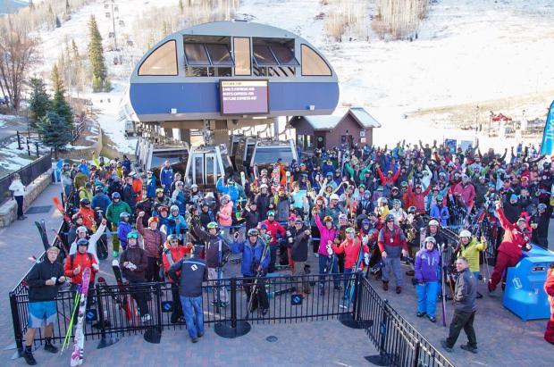 Las estaciones de E.E.U.U. recibieron este invierno 51,1 millones de esquiadores, un 14% menos