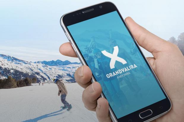 Grandvalira mejora su aplicación, una app que acumula la cifra récord de 150.000 descargas