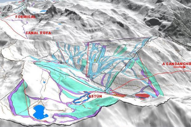 La Megaestación de Aragón (Astún, Candanchú y Formigal) costará 60 millones