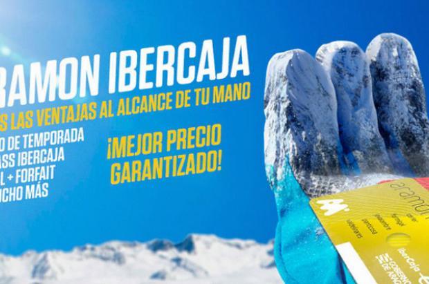 Aramón lanza ofertas exclusivas de nieve para los clientes de Ibercaja