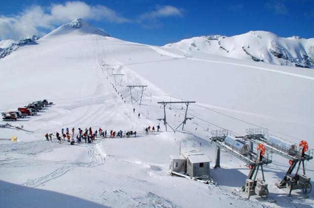 El 13 de junio se abre el glaciar de Stelvio para esquiar con casi 50 cm de nieve fresca