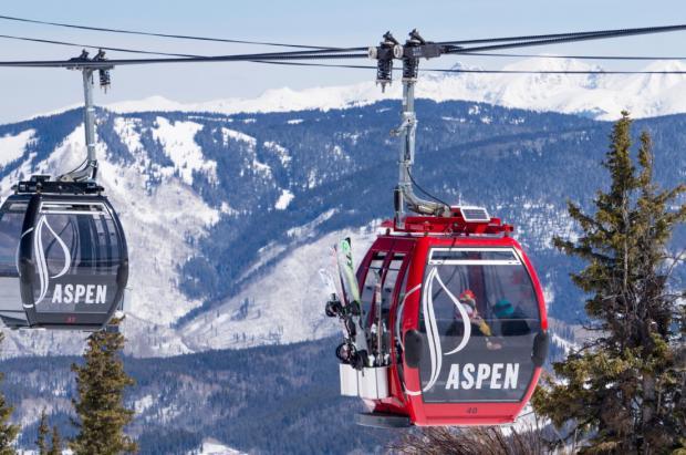 Aspen da a conocer las cifras de afluencia de esquiadores 2020-21. Un 20% menos