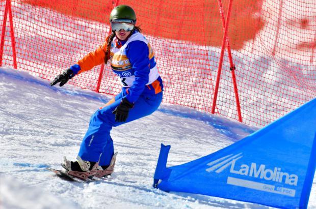 Astrid Fina repite plata en la Copa del Mundo IPC 2019 de para-snowboard de La Molina