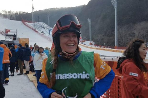 Astrid Fina hace historia en PyeongChang, medalla de bronce en snowboard cross