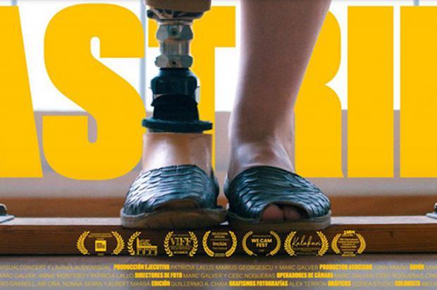 """Llega a los cines """"Astrid"""", la emotiva historia de la snowboarder paralímpica española Astrid Fina"""