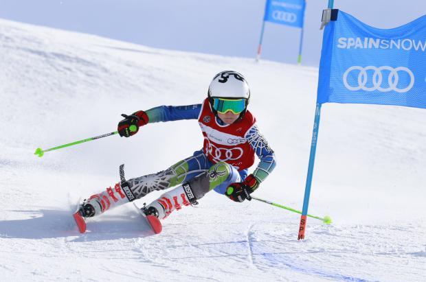 280 esquiadores participan en la segunda cita de la Audi quattro Cup en Baqueira Beret
