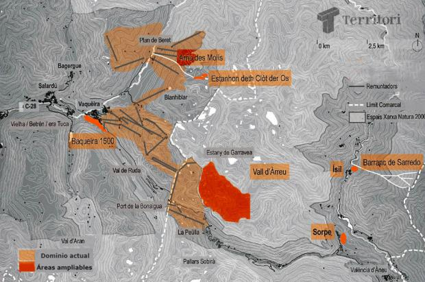 Baqueira Beret ampliará su dominio esquiable con un nuevo sector en la Peülla